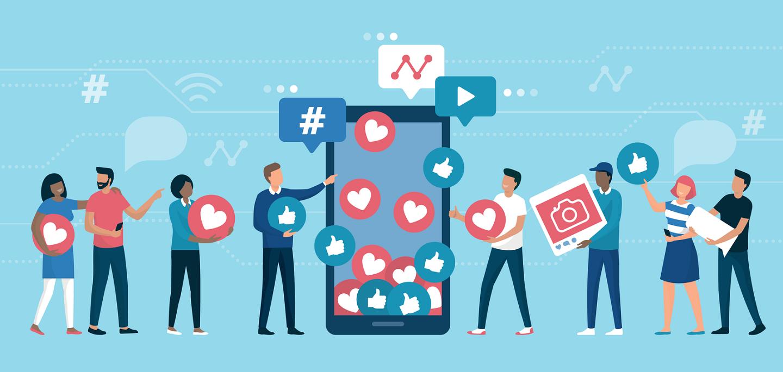 مخاطبان در کمپین شبکه های اجتماعی
