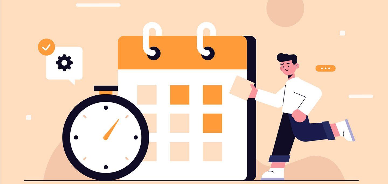 زمانبندی در تقویم محتوایی