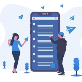 بررسی اثر بخشی کانال تلگرام