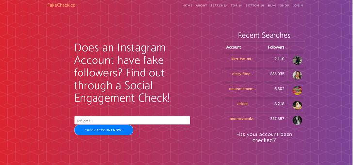 fakecheck instagram