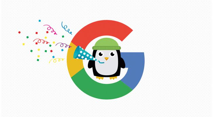 پنگوئن مهربان گوگل
