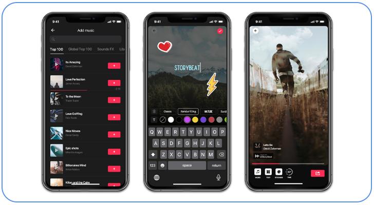 اپلیکیشن storybeat