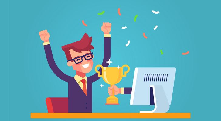برنده مسابقه در شبکه های اجتماعی