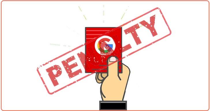 تعریفی از پنالتی گوگل