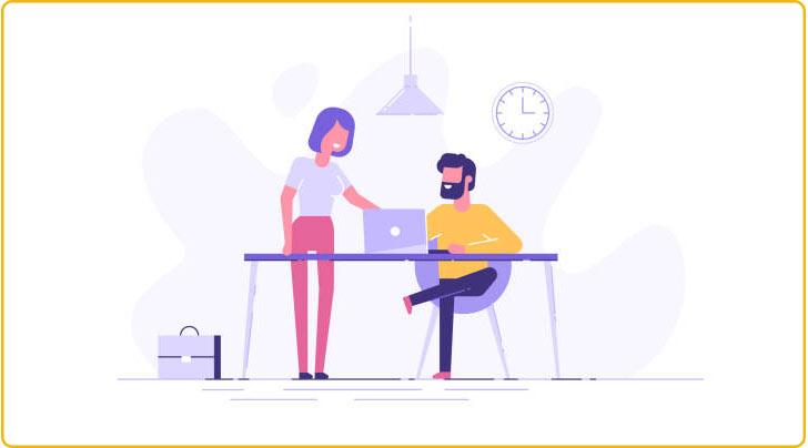 کمک گرفتن از همکاران برای ارزیابی کال تو اکشن