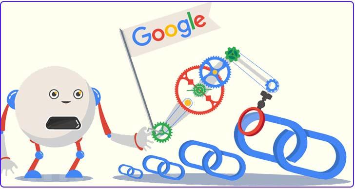 گوگل و بک لینک