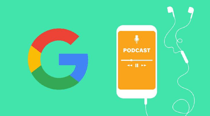 گوگل پادکست را دوست دارد