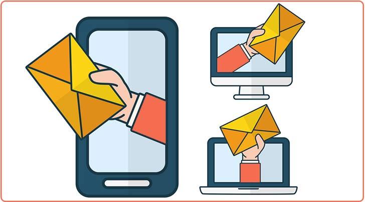 ارسال ایمیل به کاربران