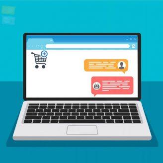 تجربه ارتباط با مشتری از طریق چت در فروشگاه اینترنتی