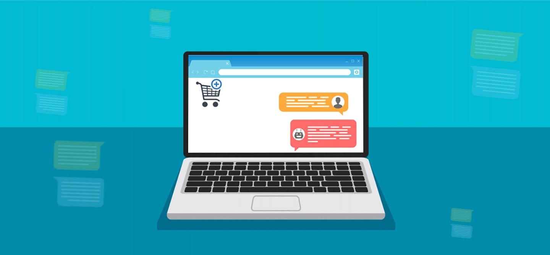 تاثیر چت بر فروش اینترنتی سایتها