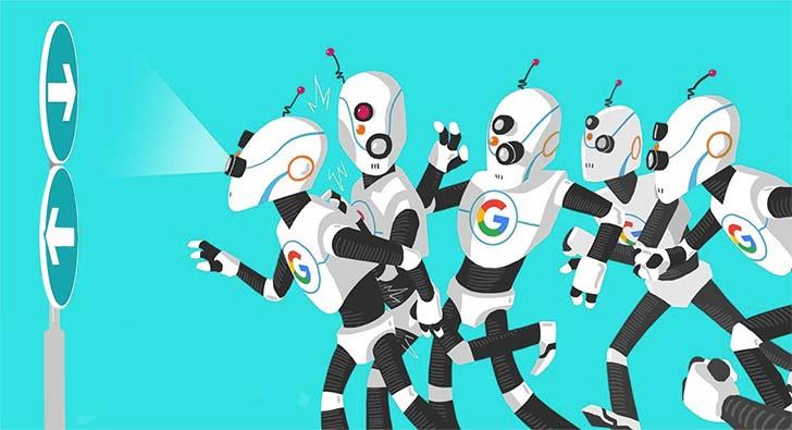 مسیر دوراهی برای رباتهای گوگل
