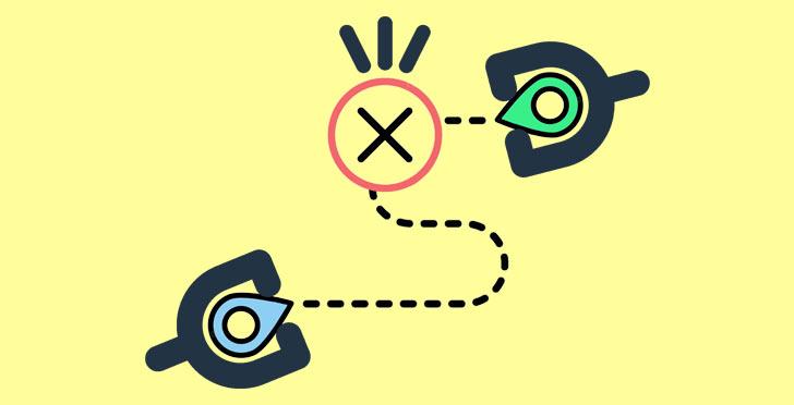 مسیریابی اشتباه