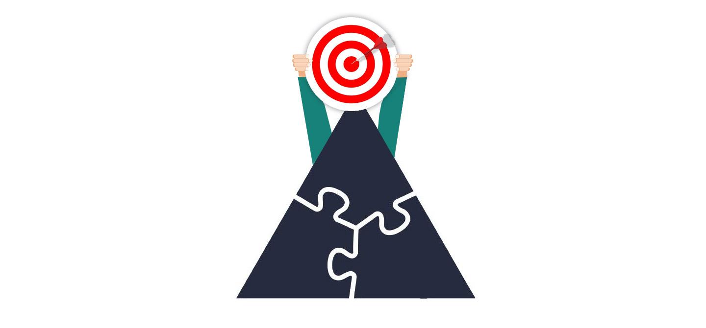 نوک هرم بازاریابی محتوا هدف ماست